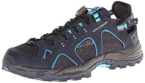 Salomon - Techamphibian 3 - Derby homme, marron (Deep Blue/Autobahn/Fluo Blue), 41 1/3