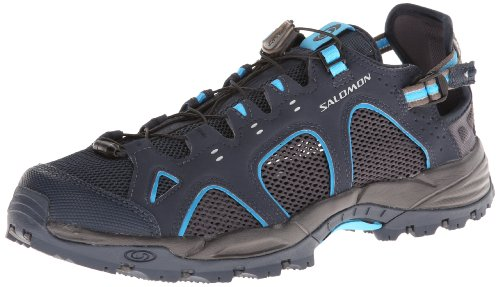 Salomon Techamphibian 3, Scarpe da Escursionismo Donna Blau (Deep Blue/Autobahn/Fluo Blue)