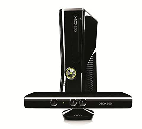 Console Xbox 360 250 Go + Kinect + Kinect adventures
