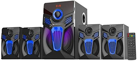 Zebronics Fantasy-BT-RUCF 4.1 Multimedia Home Theatre System With Bluetooth (Black and Blue)
