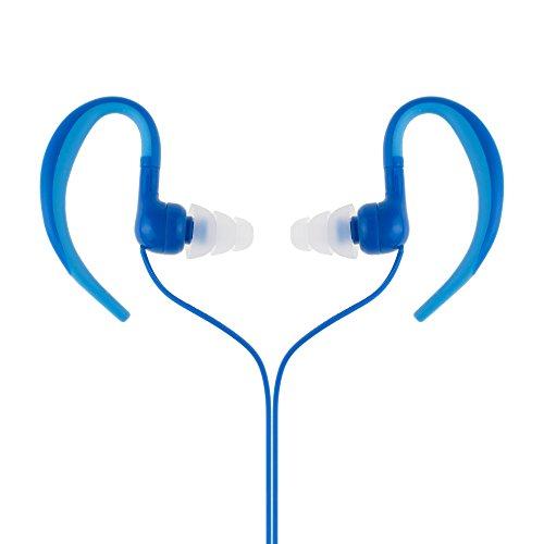 [Versión mejorada] AGPTEK Auriculares Impermeables Acuaticos IPX8 para Natacion Piscina Baño Playa y Mp3, Color Azul