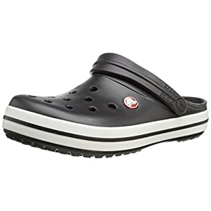 Crocs Unisex Black Slip-On Clog - M10W12