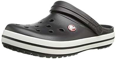 Crocs Crocband Unisex - Erwachsene Clogs, Schwarz (Black 001),Gr. 36-37 (M3/W4 UK-M4W6 US)