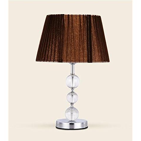 WL&F Lampada da tavolo in cristallo di protezione degli occhi da tavolo decorazione della lampada camera da Header Scrivania Camera Lamp Dispositivo , 2 - 2 Header