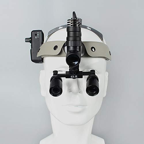 Wanjia Vergrößerungsglas/Vergrößerungsglas, 4 x 420 mm, für zahnärztliche Operationen, Vaskular, Männliche und Gynäkologie, 4 Stück