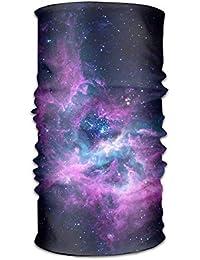 VTXWL Purple Nebula Printed Sports Magic Scarf 751224bc513