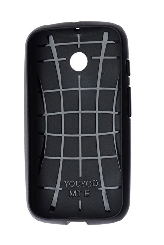 S. Armor Anti Shock Hybrid dual layer protective Back covers with precise cutouts highlight the buttons . compatible for :Motorola Moto-E  available at amazon for Rs.121