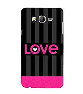 Love Pattern 3D Hard Polycarbonate Designer Back Case Cover for Samsung Galaxy On5 :: Samsung Galaxy On 5 G550FY