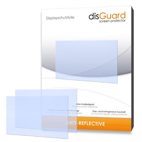 disGuard 3RX023176 antireflektierend und hartbeschichtet Displayschutzfolie für Canon Powershot SX260 HS / SX260HS / SX-260 HS (3-er Pack)