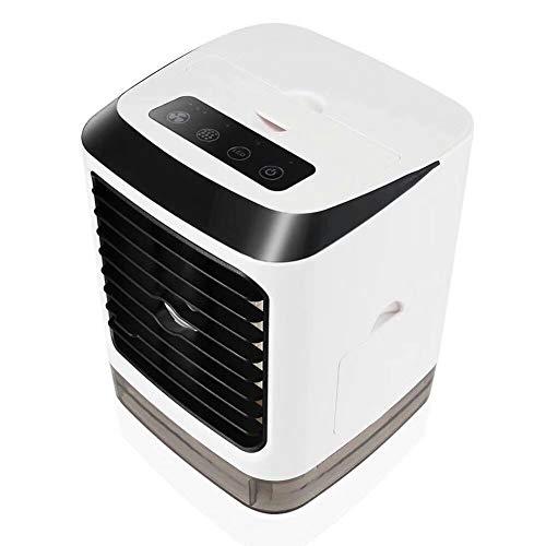 13w Luft (Y-LengF Leise Tragbare Klimaanlage Tragbare Klimaanlage Luft Dampf Lufterfrischer | Lüfter Klimaanlage 3 Leistungsstufe 7 Stimmungslampe Büro)