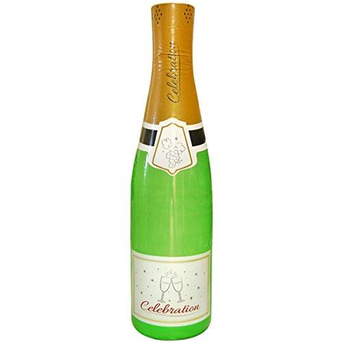 Unbekannt Champagner Flasche 1,80m aufblasbar Champagnerflasche Dekoration Deko