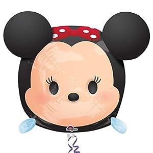 "Amscan International-3411101""Disney Tsum Tsum Minnie Ultra forma globo en forma de"""