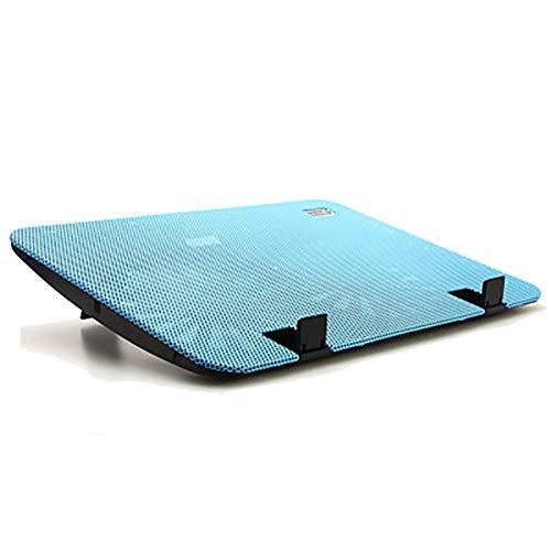 """INEP Notebook Cooler, 12"""" -16"""" Stiller Laptop Kühler Cooling Pad Stand mit 2 USB Powered Fans 1000 RPM Leicht und schlankes Design,Blau"""
