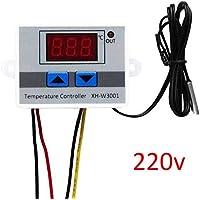 Coomir Medición portátil del regulador de Temperatura Digital Mini con la exhibición del LCD para el Acuario