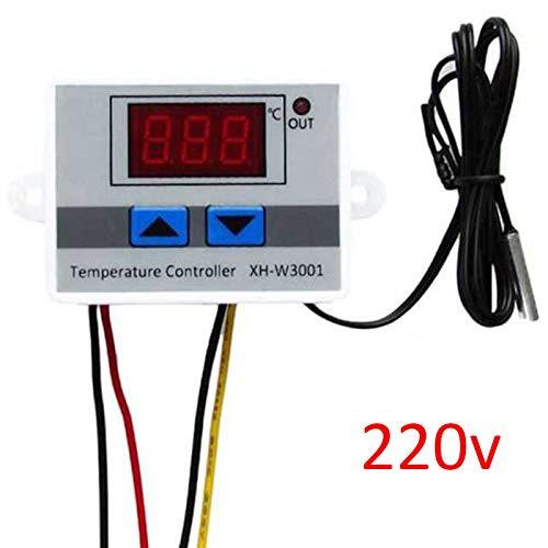 Coomir Digital-Temperaturregler-Tragbare Miniemessung mit LCD-Anzeige für Aquarium (Fish Tank-anzeige)