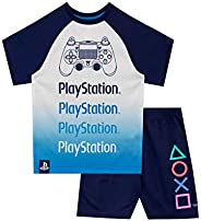PlayStation Pijamas de Manga Corta para niños