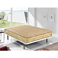 Pavillon Class - I - Basic - Topper Viscoelastico con tratamiento Aloe Vera - 180x90x5 cm