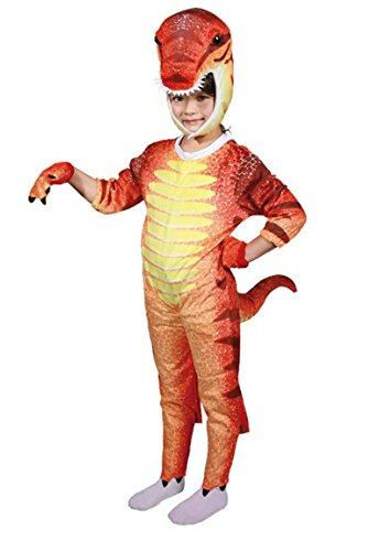 Kinder Kostüm Dinosaurier Dino Karneval Fasching in 3 Größen (Large) (Kind Pink Panther Kostüm)
