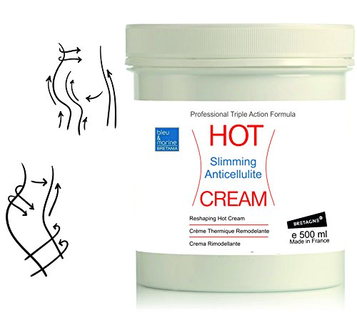 CREMA HOT Anti Celulitis Adelgazante 500 ml ● CREMA