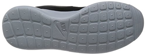 Nike Roshe One Suede, Scarpe sportive, Uomo Black/Mtlc Dark Grey-Wolf Grey