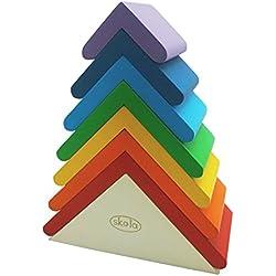 Skola Toys Rainbow Roofs - Stack & Nest