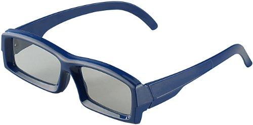 Somikon Hochwertige 3D-Brille mit Polfiter-Technologie, linear