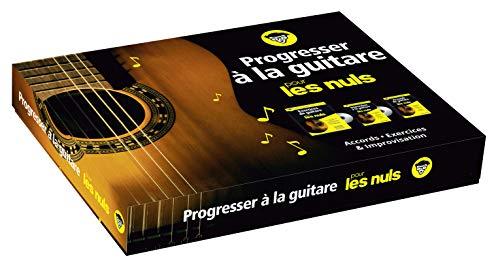 Progresser à la guitare pour les Nuls coffret par Antoine POLIN