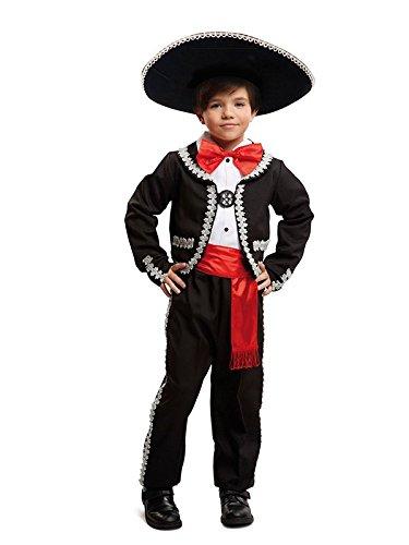 DISBACANAL Disfraz de Mariachi para niño – Único, 10-12 años