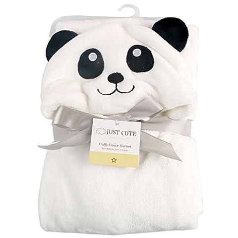 Bébé Panda - Missbleu Sortie de Bain a Capuche Animaux-Peignoir