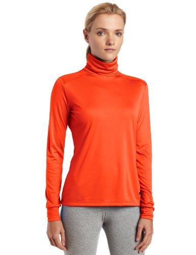 Hot chillys–Fonction avec t-shirt à col roulé Peach Skins Orange