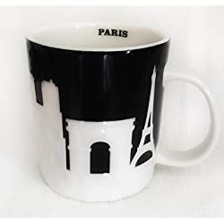 Starbucks Paris Relief Mug 2011 France, 16 Oz by Starbcks