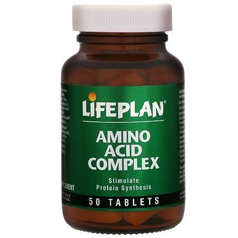 Stratégie de vie complexe d'acides aminés à 50