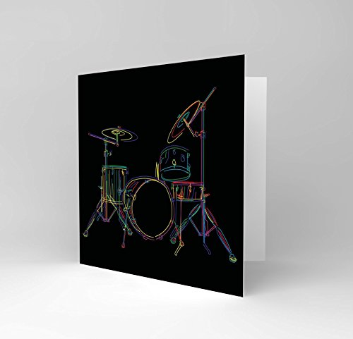 drum-set-music-colourful-illustration-black-blank-greetings-birthday-card-cs053