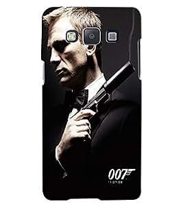 Citydreamz 007/James Bond/Movies Hard Polycarbonate Designer Back Case Cover For Samsung Galaxy J2 Pro