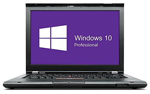 Lenovo ThinkPad T430 Notebook / Laptop | 14 Zoll Display (1366 x 768) | Intel Core i5-3320M @ 2,6 GHz | 8GB DDR3 RAM | 128GB SSD | DVD-Brenner | Windows 10 Pro (Zertifiziert und Generalüberholt)