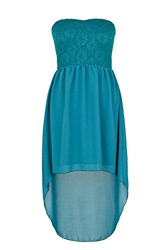Apparel Outlet - Robe de soirée élégante - Femme vert petrol simple