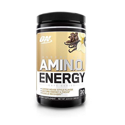 Optimum Nutrition - AmiN.O. essenziale. L'energia ha ghiacciato la vaniglia del caffè - 10,6 oncia. - 41bQwpML7NL