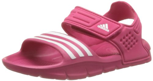 adidas Performance Akwah 8 D65920 Mädchen Sandalen, Pink (Vivid Berry S14/Running White Ftw/Running White Ftw), 5