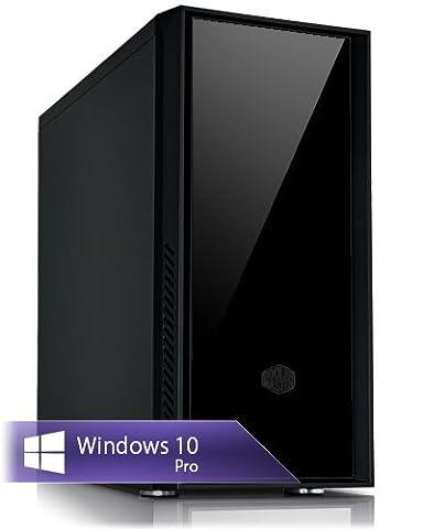 Ankermann-PC CAD Quadro LowNoise Workstation, Intel Xeon E3 1275 v5 4x3,60GHz, PNY Quadro K620 2GB, 16GB RAM, 250GB SSD, 2TB HDD, Microsoft Windows 10 Professional, W-LAN Port 300Mbps, EAN 4260409322912