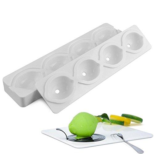 3D Lemon Shape Formen Silikonform Kuchen Mousse für Eiscreme Pralinen Gebäck Art Pan Dessert Backformen Kuchen Dekorieren von Werkzeugen