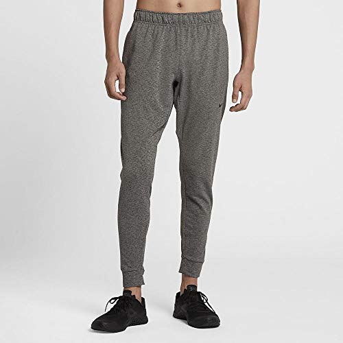 Nike Herren Dri-Fit Yogahose, Heather/Black, L