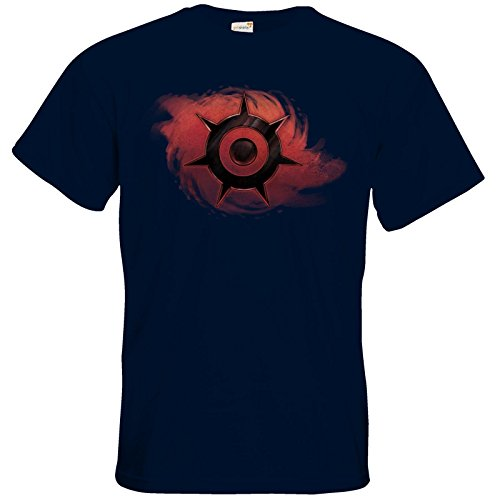 getshirts - Das Schwarze Auge - T-Shirt - Götter und Dämonen - Dämonenkrone Navy