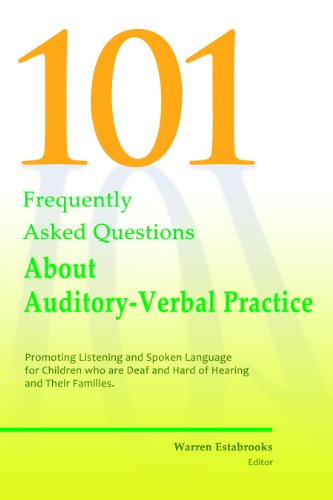 101 FAQs About Auditory Verbal Practice (English Edition)