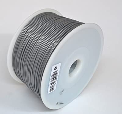 1.75mm Silver ABS filament 1.0kg