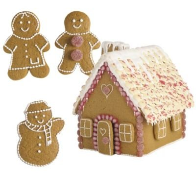 Lakeland Gingerbread House & People Cutter Set - Pack of 12