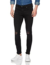 Cheap Monday Tight Turnout Black, Jeans Slim Homme
