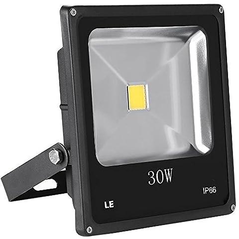 LE Projecteur Extérieur LED 30W, 2250lm Equivalent à HPS 75W, Imperméable IP66 Eclairage Extérieur, Lumière (giardino decorazione esterna e Patio)