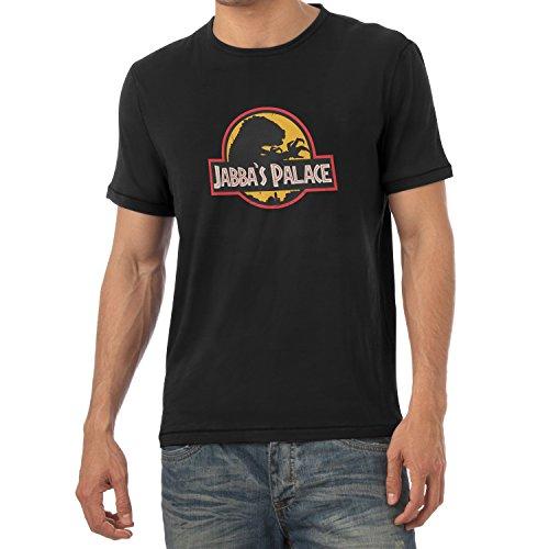 NERDO - Jabba's Palace - Herren T-Shirt Schwarz