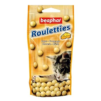 Beaphar - Friandises Rouletties au fromage - chat - 44,2 g