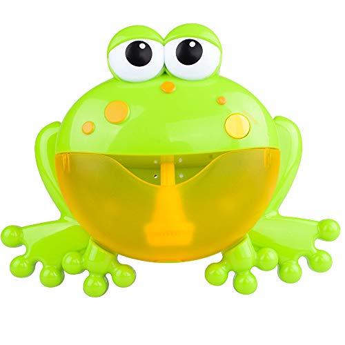HappySDH Badespielzeug Baby Hochwertiges Bubble Machine Big Frogs Musik Badewannen Wasserspray Badespaß Puzzle Kleinkindspielzeug dusche ideal als Geschenk